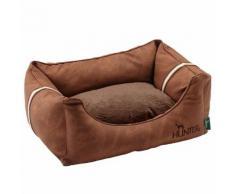 Divano per cani Hunter Göteborg marrone - L 80 x P 60 x H 32 cm