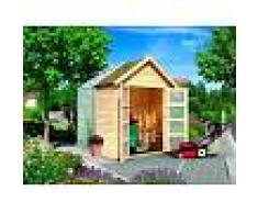 Pircher Casetta serra da giardino in legno di abete Legno