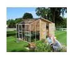 Pircher casetta serra giardino in legno di abete Legno