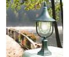 LIBERTI LAMP linea GARDEN Dione Nero Luce Da Cancello Lampioncino Lampada Per Esterno Classica