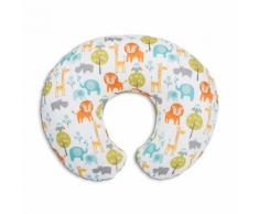 Chicco Boppy Cuscino Da Allattamento Foderabile In Cotone Colore Jungle