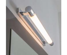 Accattivante applique per bagno Neal con LED