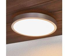 Liyan - plafoniera LED da bagno, colore argento
