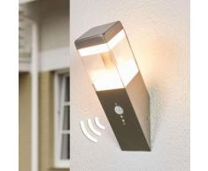 Applique LED da esterni Baily a fiaccola, sensore
