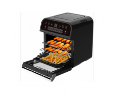 Cuisinier Deluxe Friggitrice ad aria calda 12Ltr 1600W nero 871125213852