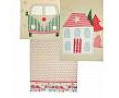 La maison de Rose Patch Strofinaccio 45x65 Cm - 3 Assortimenti