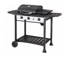 Barbecue A Gas Gpl 3 Fuochi Taddei Elite Nero