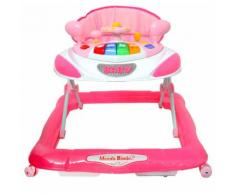 Girello Per Bambina 3 Altezze Kids Joy Space Rosa