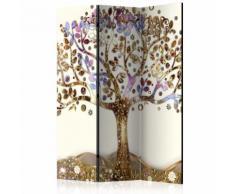 Paravento 3 Pannelli - Golden Tree 135x172cm Erroi