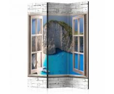 Paravento 3 Pannelli - Azure Paradise 135x172cm Erroi