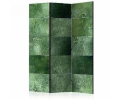 Paravento 3 Pannelli - Green Puzzle 135x172cm Erroi