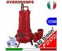 HYDROPOMPE F202 - Pompa sommersa per fognature e acque sporche