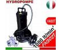 HYDROPOMPE F302 - Pompa sommersa trifase per fognature e acque sporche