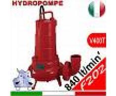 HYDROPOMPE F202 - Pompa sommersa trifase per fognature e acque sporche