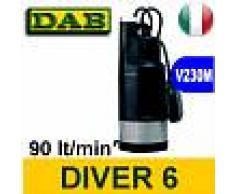 Dab Pompa Sommersa Immersione monoblocco DIVER 6