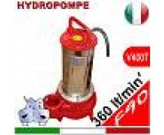 HYDROPOMPE F90 - Pompa sommersa trifase per fognature e acque sporche
