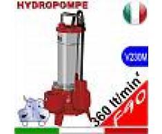 HYDROPOMPE F90 - Pompa sommersa per fognature e acque sporche