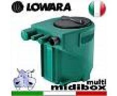 Lowara - Stazione di sollevamento MIDIBOX MULTI per acque nere completa di kit raccordi - predisposta per una pompa sommersa senza galleggiante