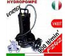 HYDROPOMPE F242 - Pompa sommersa trifase con girante vortex per fognature e acque sporche