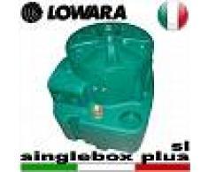 Lowara - Stazione di sollevamento SINGLEBOX PLUS - SL per acque nere completa di kit slitta - predisposta per una pompa sommersa