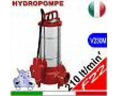 HYDROPOMPE F22 - Pompa sommersa per fognature e acque sporche