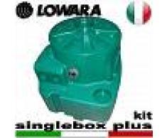Lowara - Stazione di sollevamento SINGLEBOX PLUS - KIT per acque nere completa di kit raccordi - predisposta per una pompa sommersa