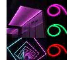 Silamp Striscia LED Tubo flessibile a METRO 220v 60LED/m SMD2835 luce neon IP44