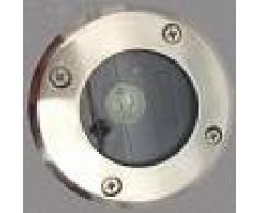 Silamp Portafaretto LED ROTONDO carrabile per faretto attacco GU10 non incluso