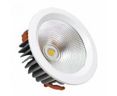 Faro LED 40W da incasso Cob Potente Bright led incasso Silamp faretto 230mm