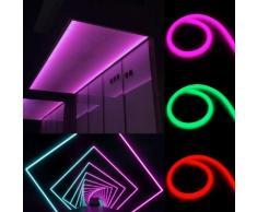 Striscia LED Tubo flessibile a METRO 220v 60LED/m SMD2835 luce neon IP44