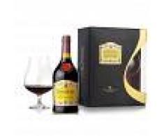 Brandy Cardenal Mendoza - Sanchez Romate Hnos [0.70 lt + Bicchiere Confezione Regalo]
