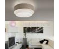 Antealuce Sahara Plafoniera A Soffitto Con Doppio Paralume D. 40 Design Moderno