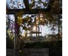 Febo Light Titty Out Lampadario Sospensione A Gabbia D.33 Lampada Rustica Da Esterno In Ottone Anticato