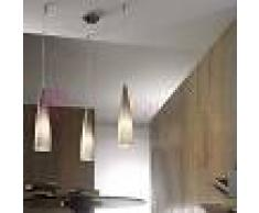 Lam Export Iris Lampada A Sospensione 3 Luci Regolabili In Vetro Di Murano Design Moderno
