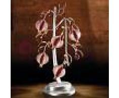Bellart Snc Ametista Lampada Da Tavolo 5 Luci Ferro Forgiato Stile Classico