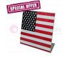Lumicom Usa Flag Lampada Da Tavolo Bandiera Americana - Offerta Ultimi Pezzi