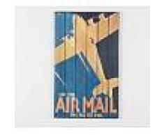 Stones Pannello in legno - Stampa Air Mail