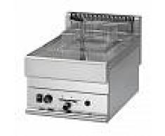 Gastrodomus Friggitrice elettrica da banco - 1 vasca - capacità 10 LT