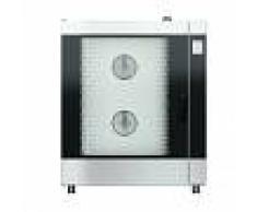 Gastrodomus Forno elettrico convezione-vapore-misto touch screen, umidificatore,per 10 teglie GN1/1 o 600x400 mm con lavaggio automatico