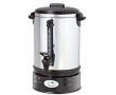 Gastrodomus Macchina per caffè in acciaio inox capacità 6,8 litri