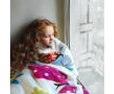 Paco Home Coperta Coperte Per Bambini Farfalle Crema (60X110)