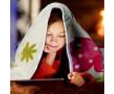 Paco Home Coperta Per Bambini Gufo Crema (60X110)