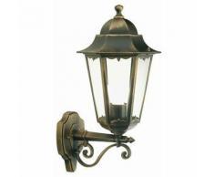 Applique da esterno in alto lanterna giardino lampada a parete muro sovil versione: grande - h 47 cm