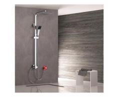 Sistema doccia senza rubinetto Colonna doccia Doccia a pioggia Rubinetto per doccia con asta doccia