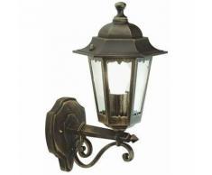 Applique da esterno in alto lanterna giardino lampada a parete muro sovil versione: media - h 40 cm