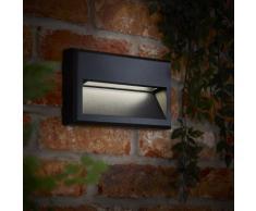Biard Hresk Applique da Parete LED 5W IP65 Bianco Naturale IP65 – Per Interni ed Esterni – Colore