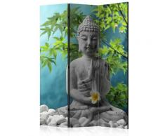 Paravento 3 Pannelli - Meditating Buddha 135x172cm Erroi