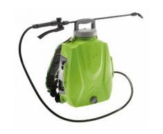 Pompa Irroratrice A Zaino A Batteria Da Giardino 8 Litri Rama Futura Verde