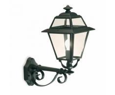 Lampada Applique In Alto Colore Grigio Per Esterno Linea Elegance Livos