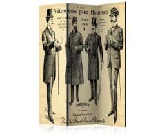 Paravento 3 Pannelli - Vêtements Pour Homme 135x172cm Erroi